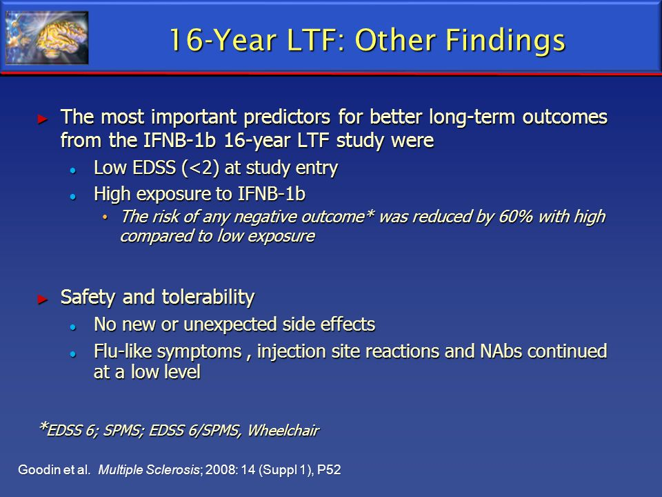 16-Year LTF: Other Findings