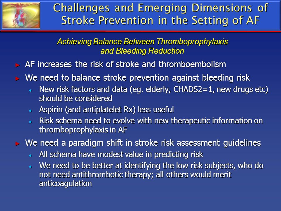 Achieving Balance Between Thromboprophylaxis and Bleeding Reduction