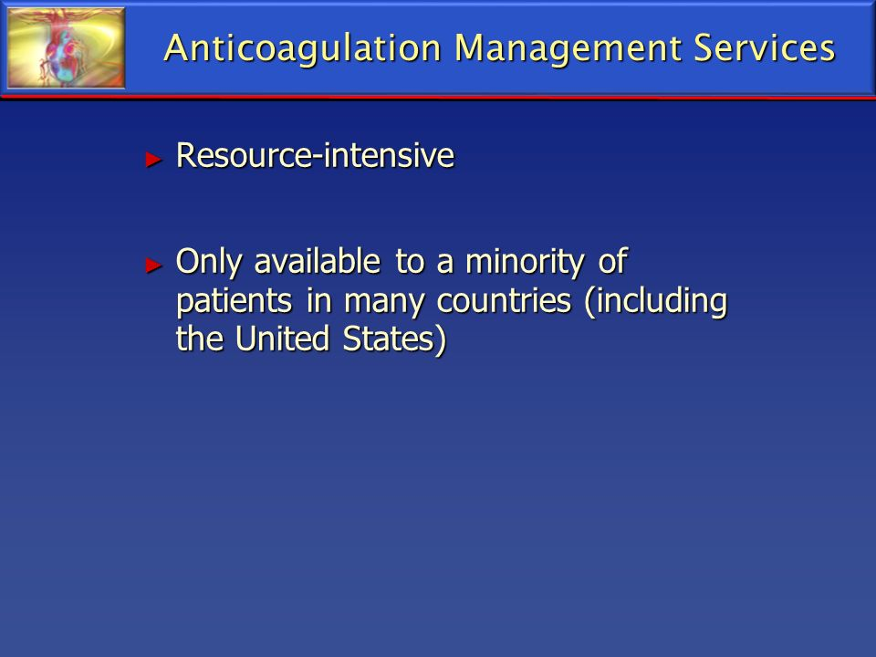 Anticoagulation Management Services