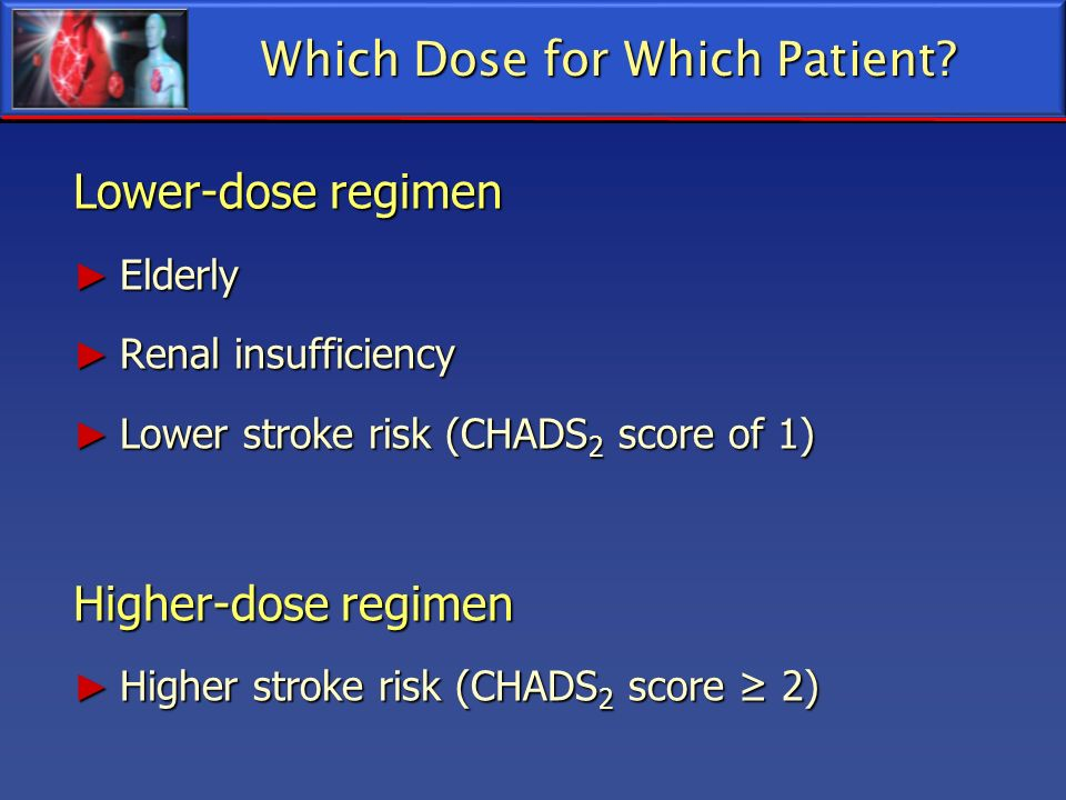 Which Dose for Which Patient