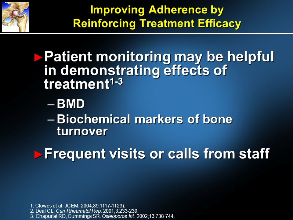 Improving Adherence by Reinforcing Treatment Efficacy