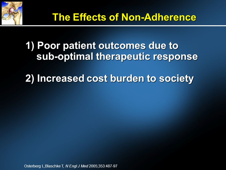 The Effects of Non-Adherence