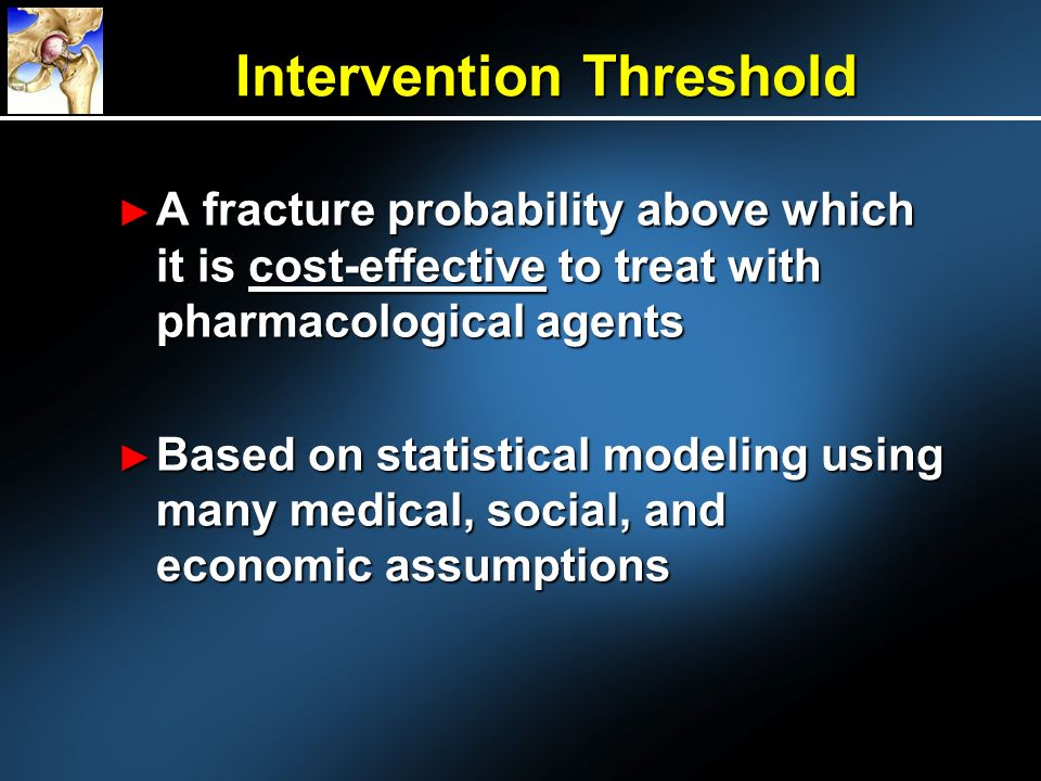 Intervention Threshold