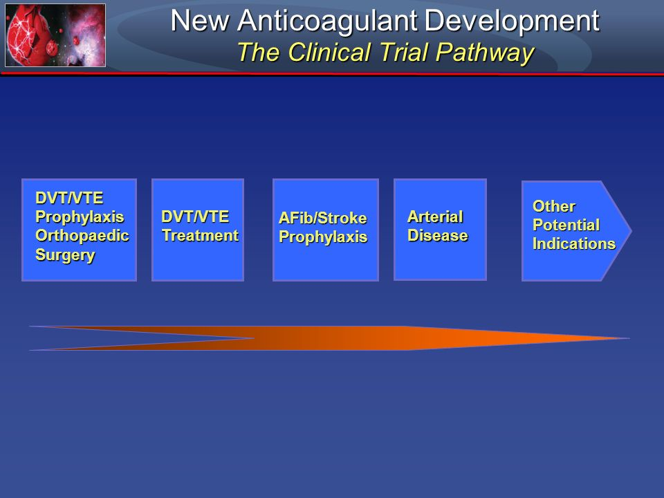 New Anticoagulant Development The Clinical Trial Pathway