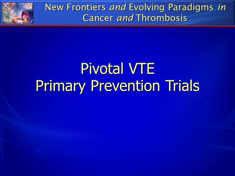 Primary Prevention Trials