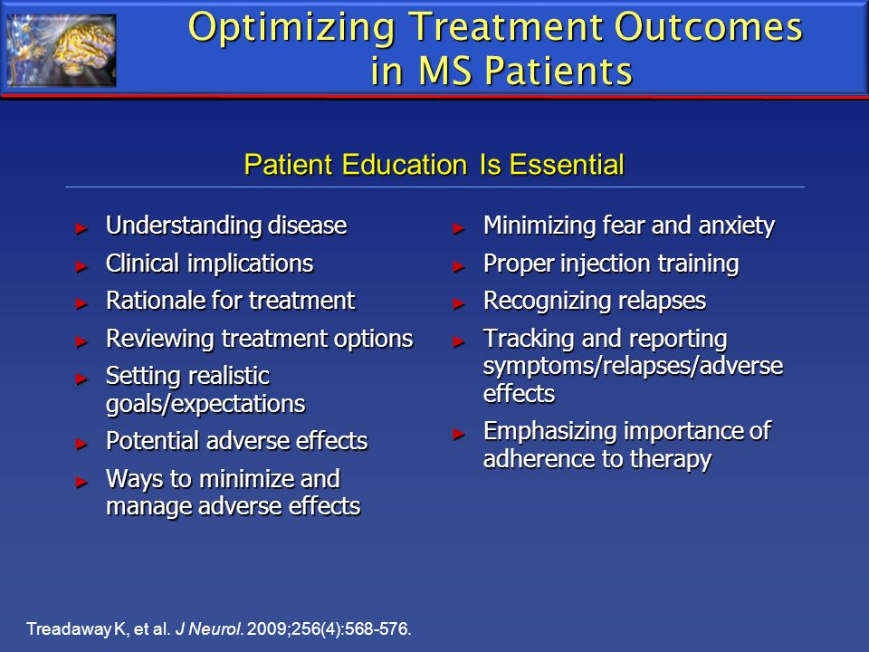 Optimizing Treatment Outcomes in MS Patients