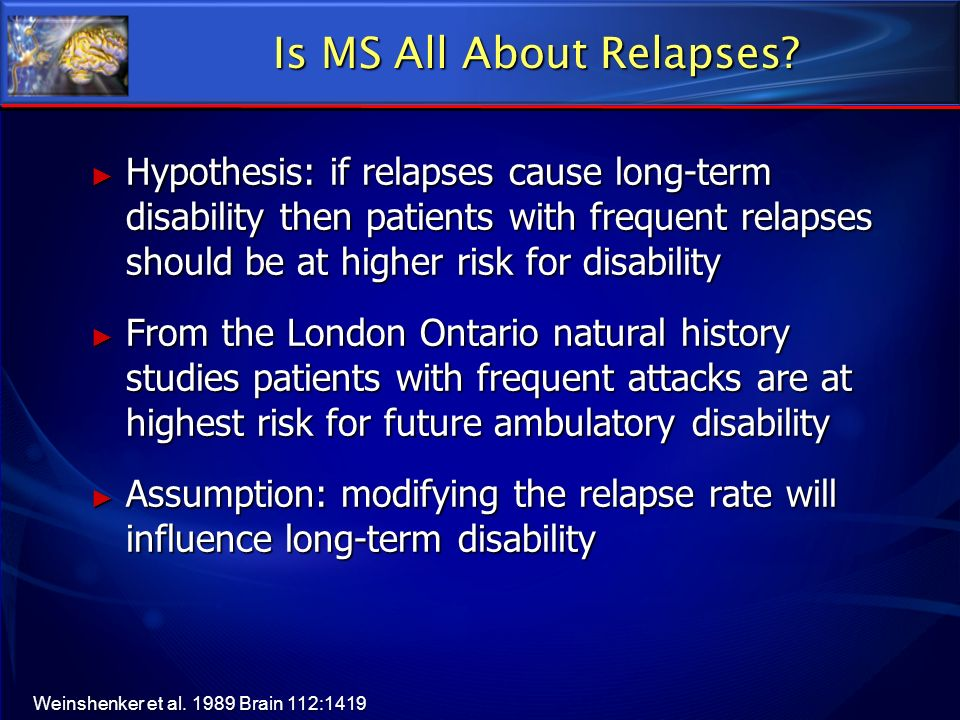 Is MS All About Relapses