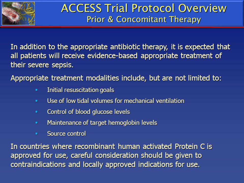 ACCESS Trial Protocol Overview