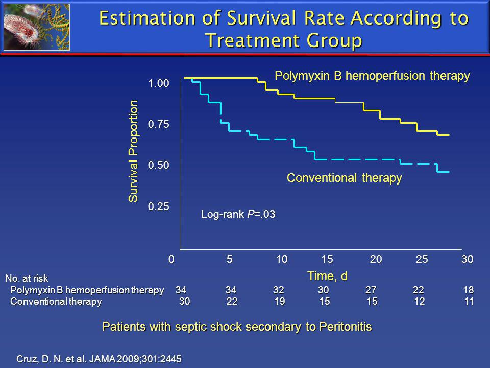 Estimation of Survival Rate According to Treatment Group