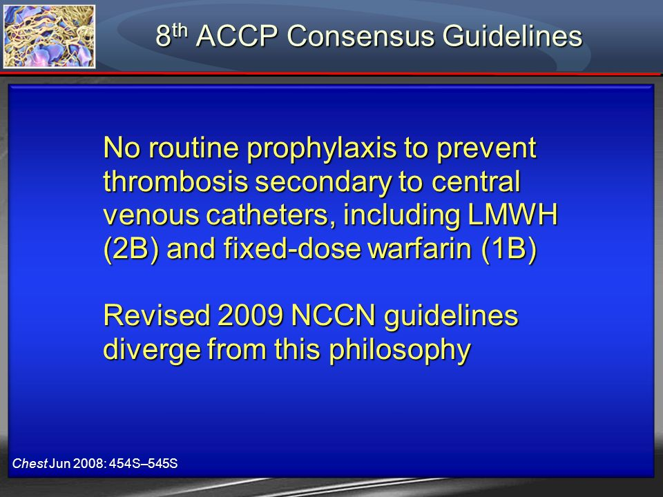 8th ACCP Consensus Guidelines