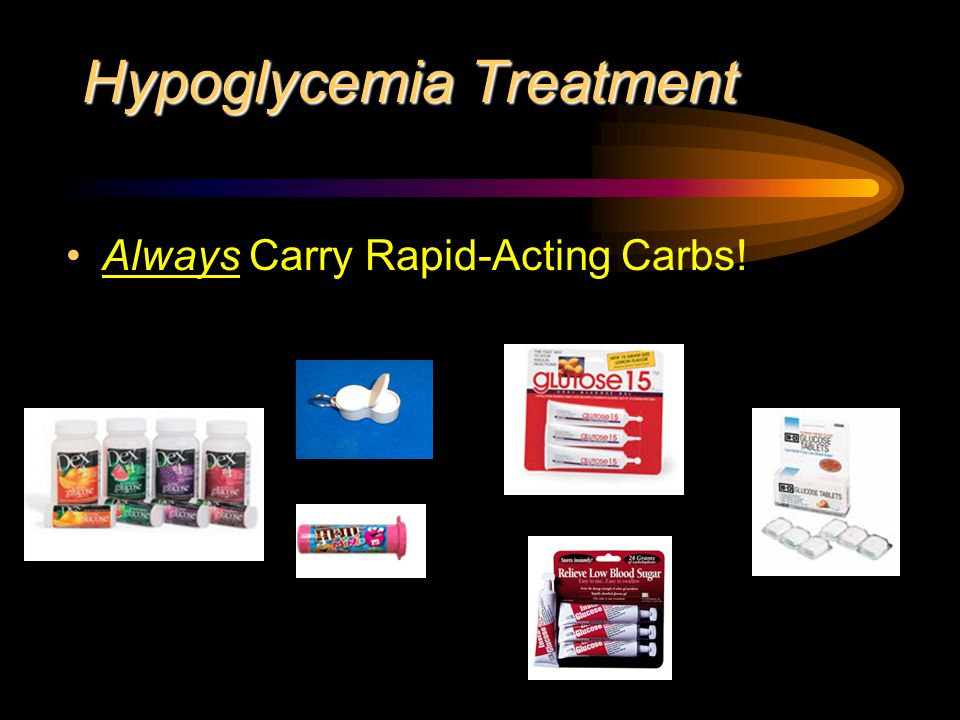 Hypoglycemia Treatment