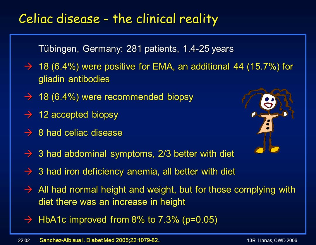 Celiac disease - the clinical reality