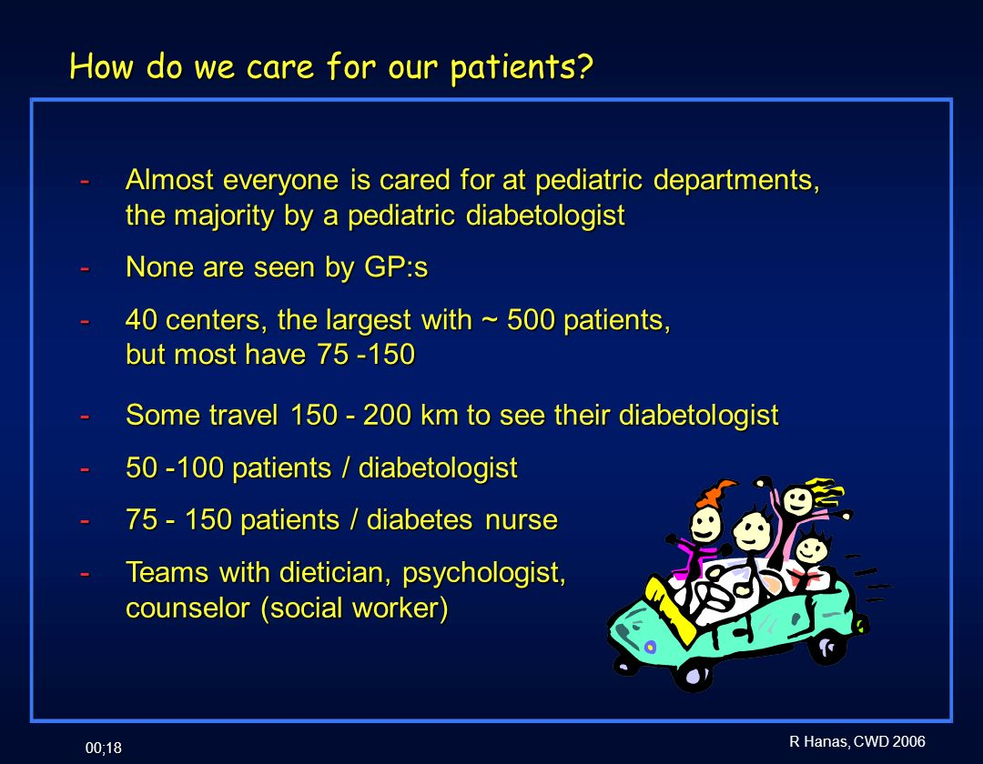 How do we care for our patients