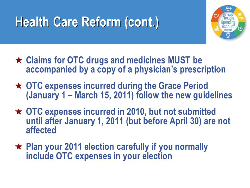 Health Care Reform (cont.)