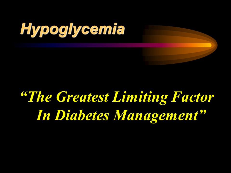 The Greatest Limiting Factor In Diabetes Management