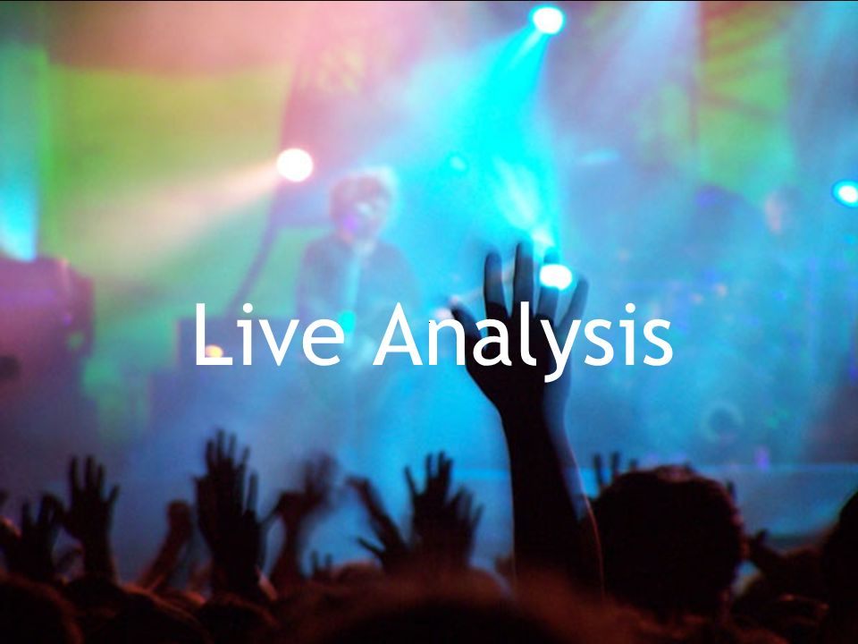 Live Analysis   - for a complex page it s great this gets an A.   -