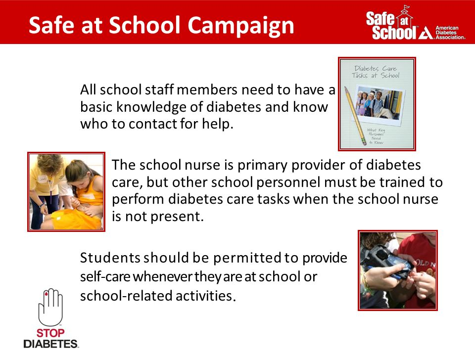 Safe at School Campaign