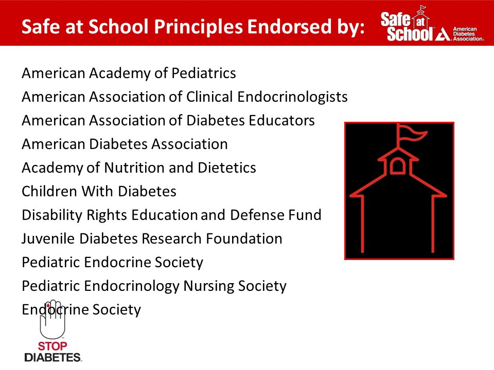 Safe at School Principles Endorsed by: