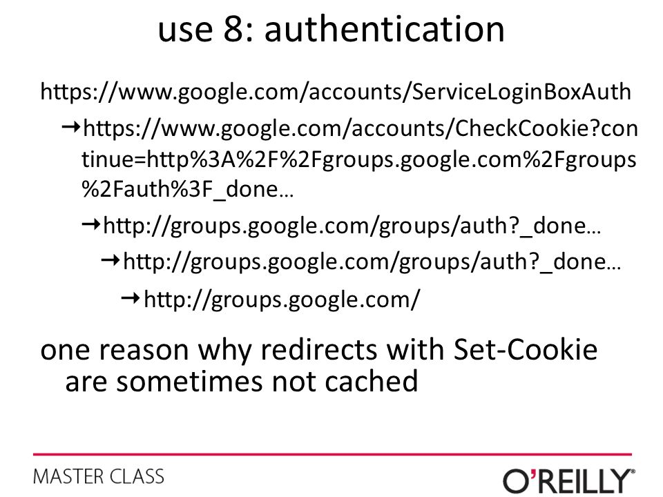use 8: authentication