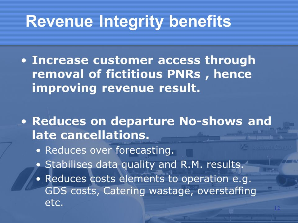 Revenue Integrity benefits