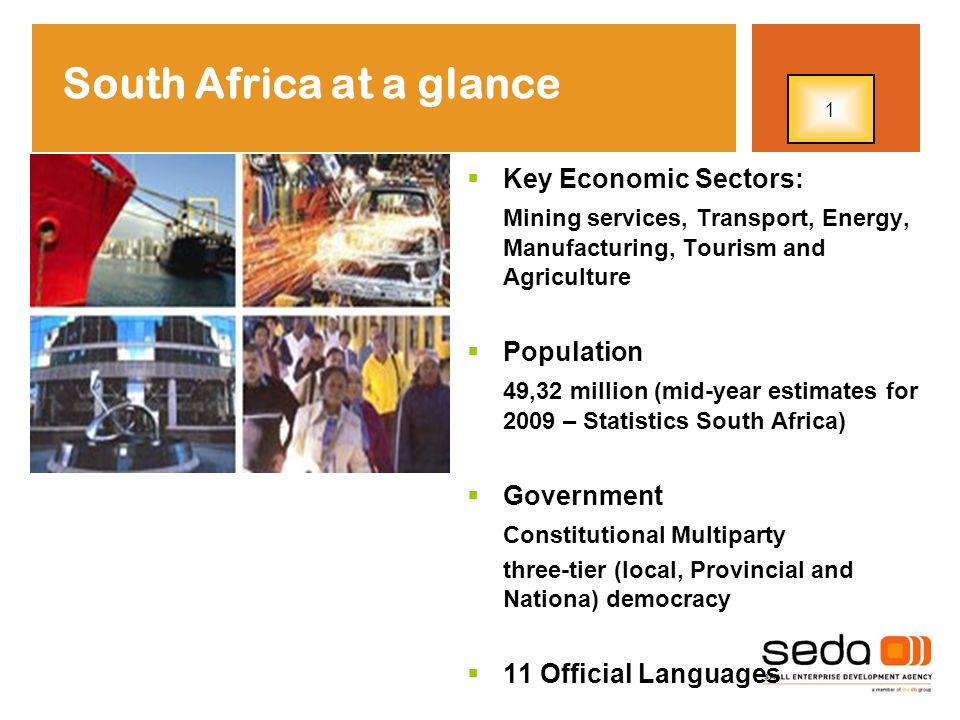 South Africa at a glance