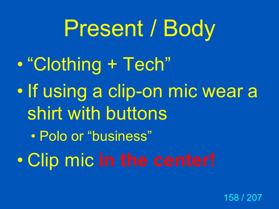 Present / Body Clothing + Tech