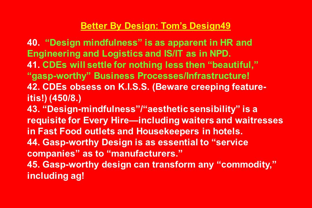 Better By Design: Tom's Design49