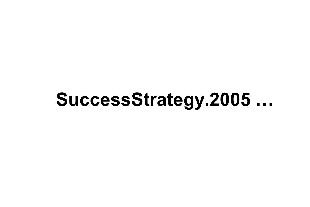 SuccessStrategy.2005 …