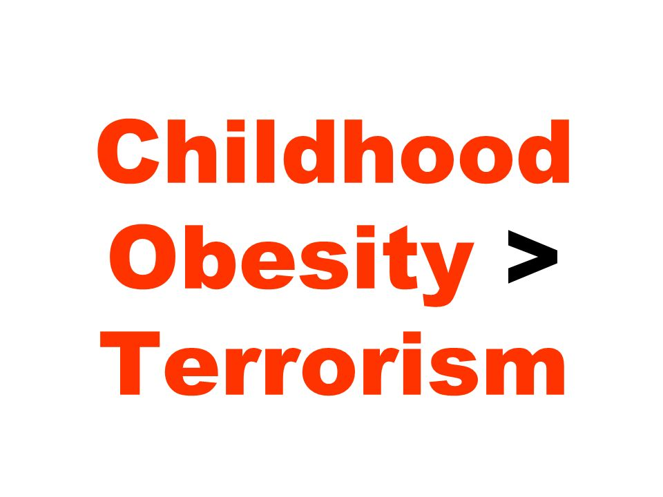 Childhood Obesity > Terrorism