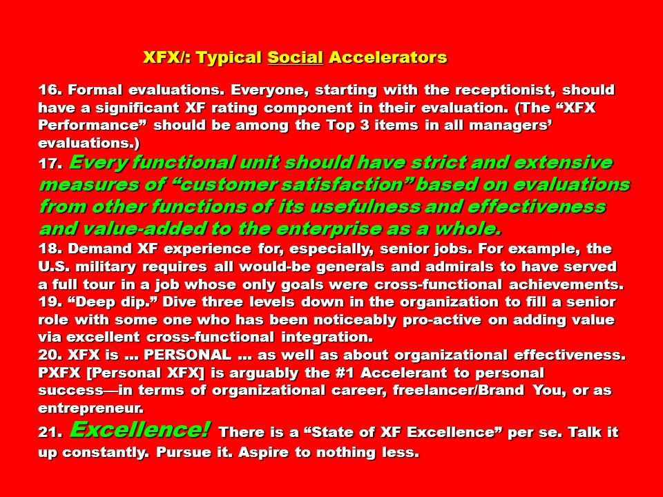 XFX/: Typical Social Accelerators