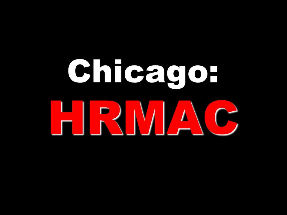 Chicago: HRMAC