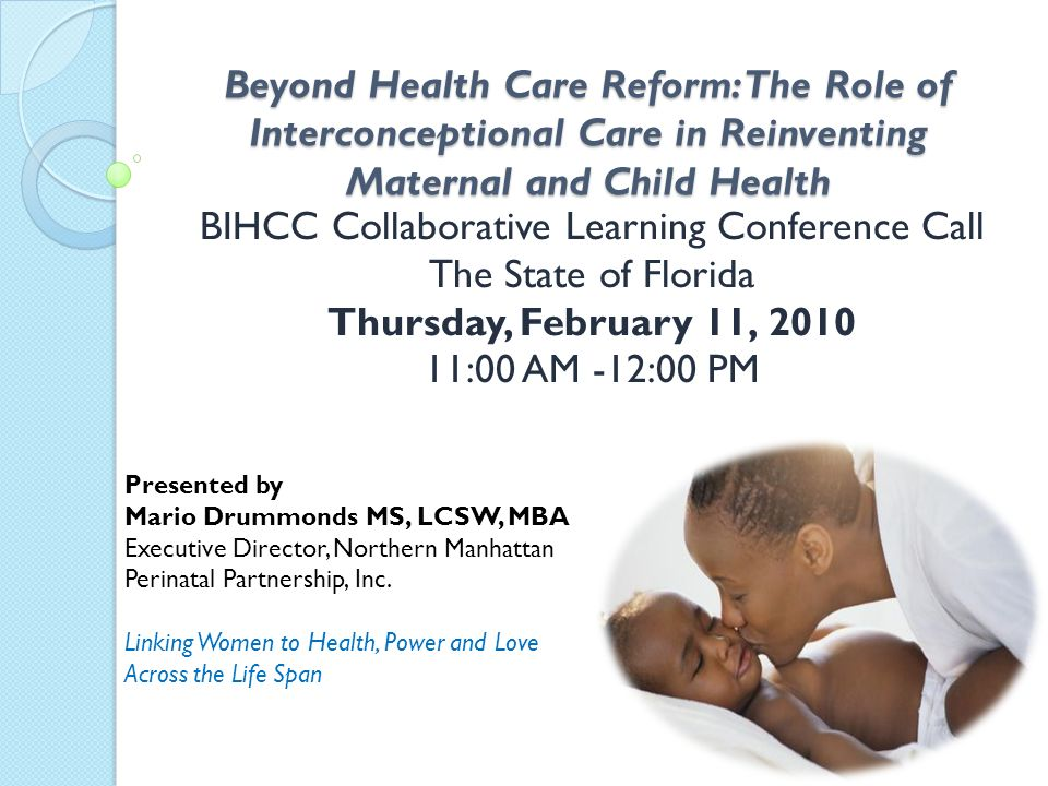 BIHCC Collaborative Learning Conference Call