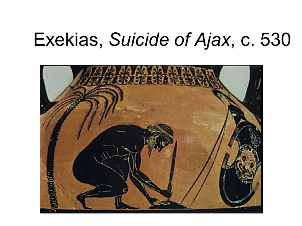 Exekias, Suicide of Ajax, c. 530