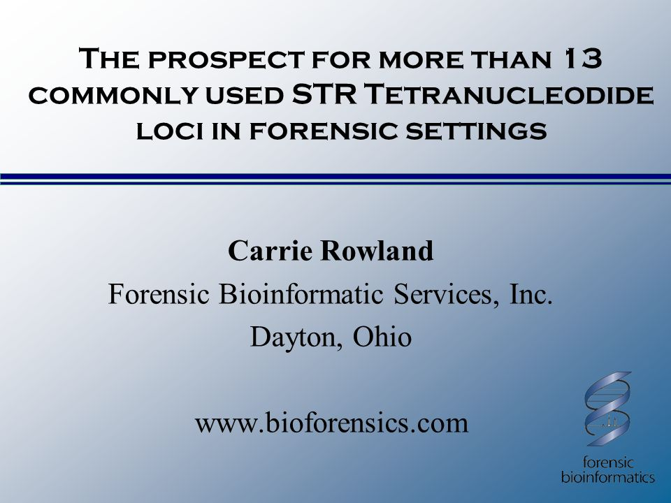 Forensic Bioinformatic Services, Inc.