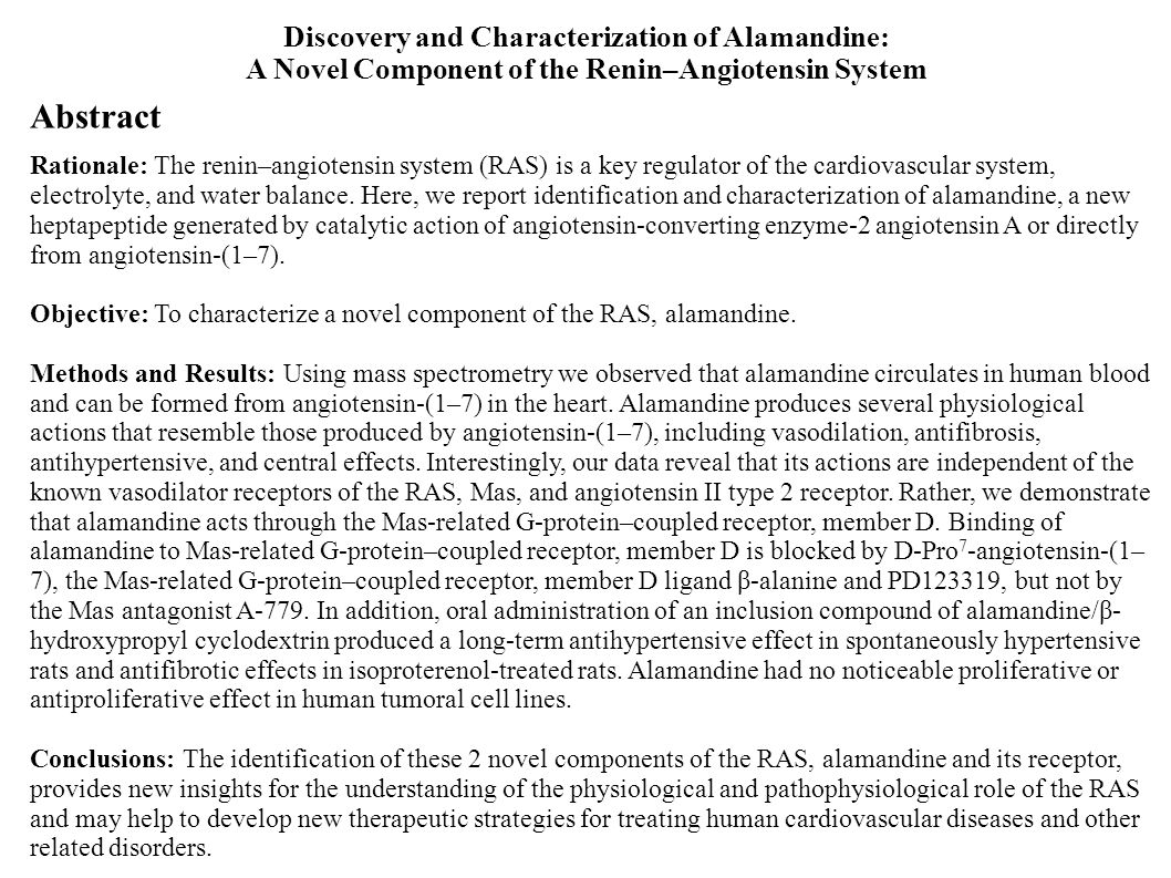 Abstract Discovery and Characterization of Alamandine: