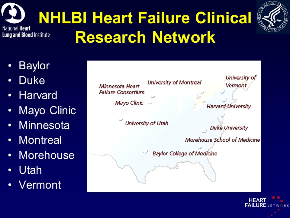 NHLBI Heart Failure Clinical Research Network