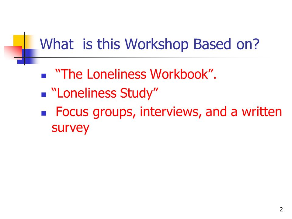What is this Workshop Based on