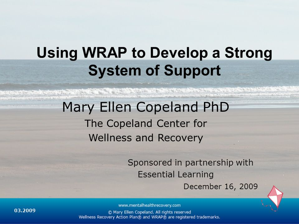 Using WRAP to Develop a Strong System of Support