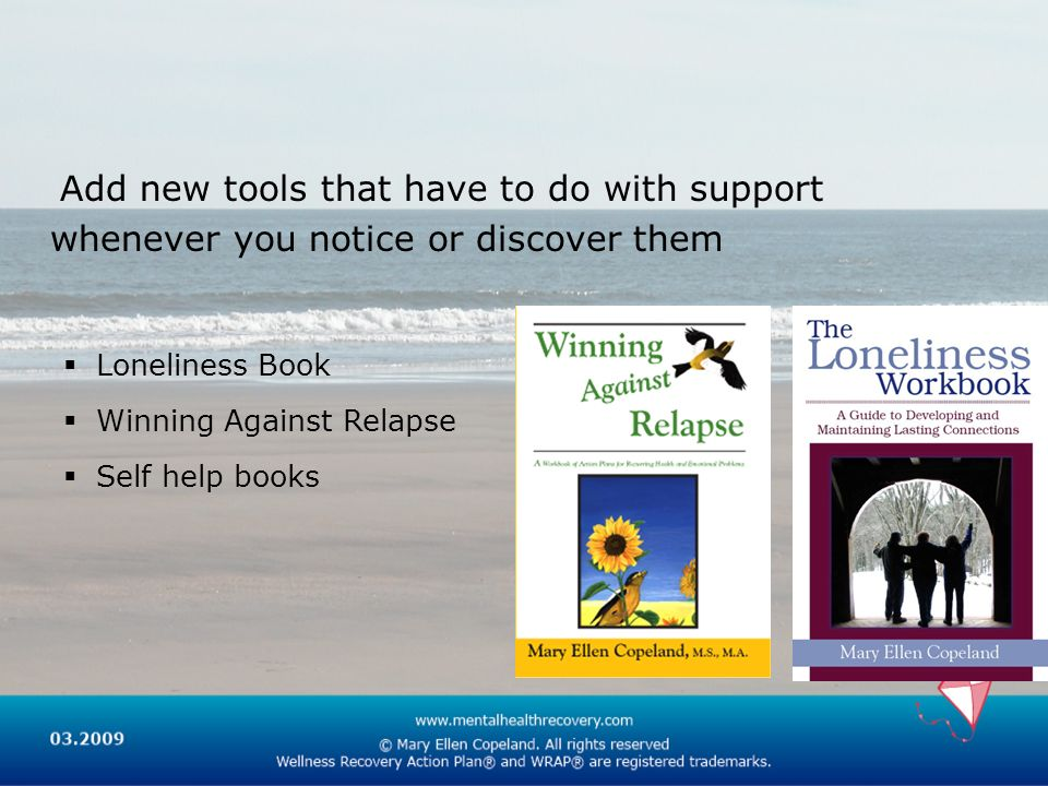 Add new tools that have to do with support whenever you notice or discover them