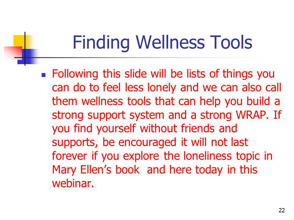 Finding Wellness Tools