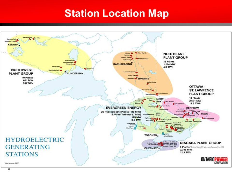 Station Location Map