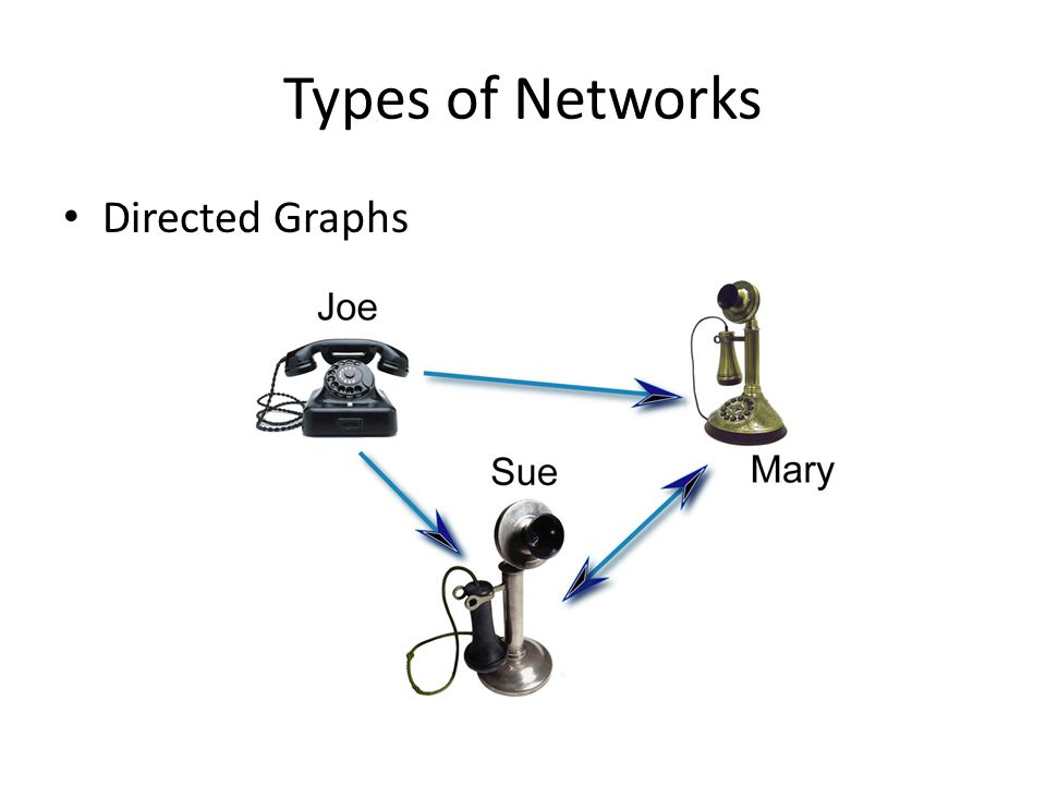 Types of Networks Directed Graphs
