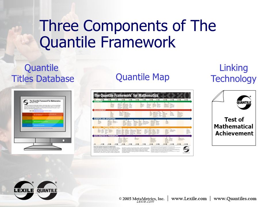 Three Components of The Quantile Framework