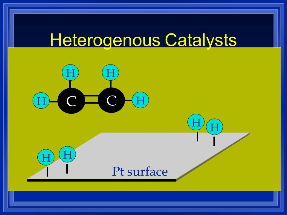 Heterogenous Catalysts