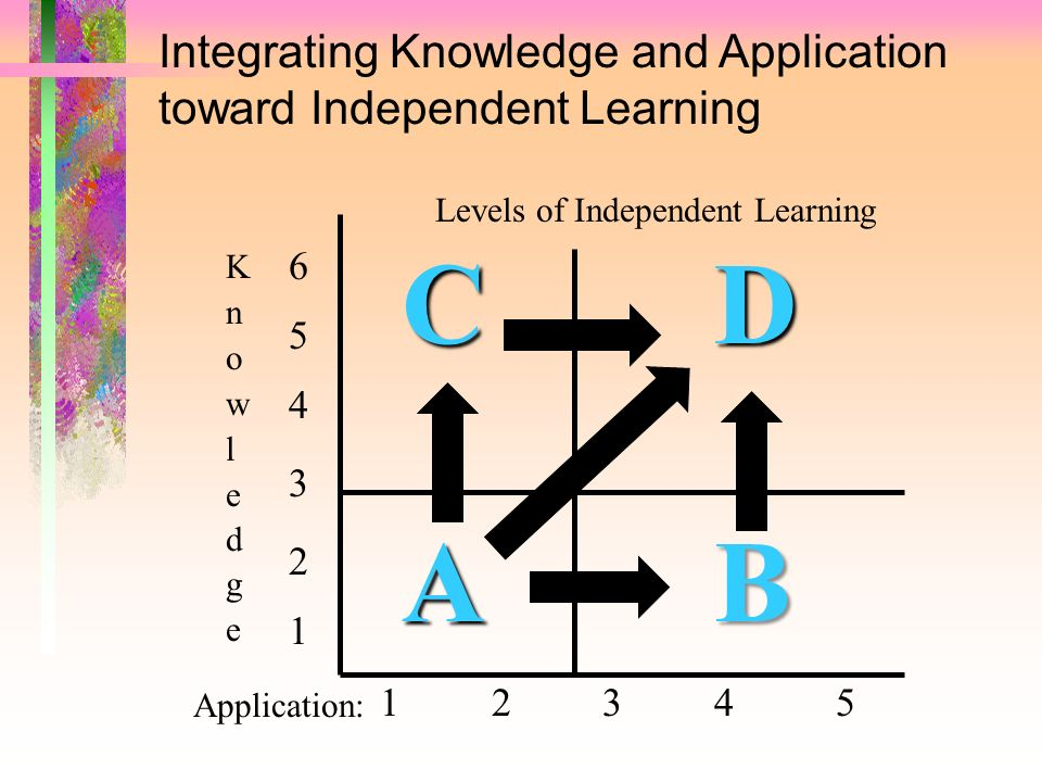 Levels of Independent Learning