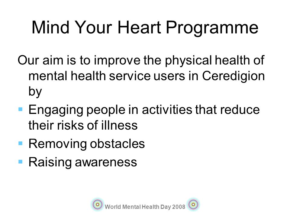 Mind Your Heart Programme