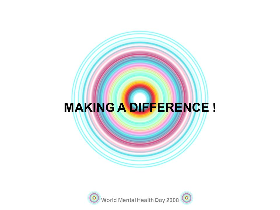 MAKING A DIFFERENCE !