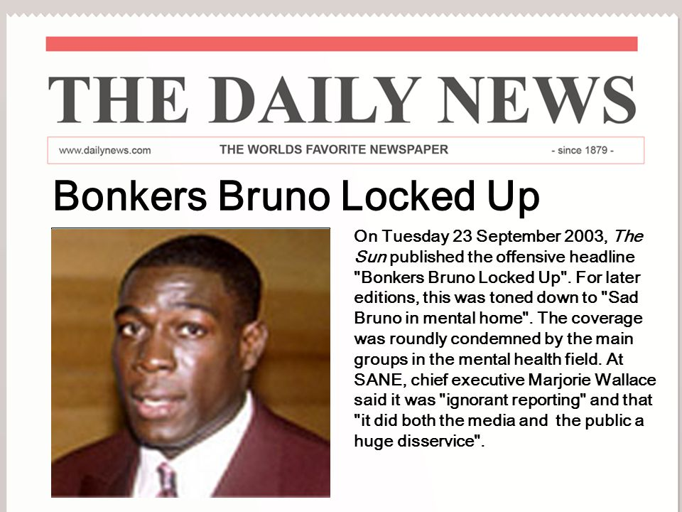 Bonkers Bruno Locked Up