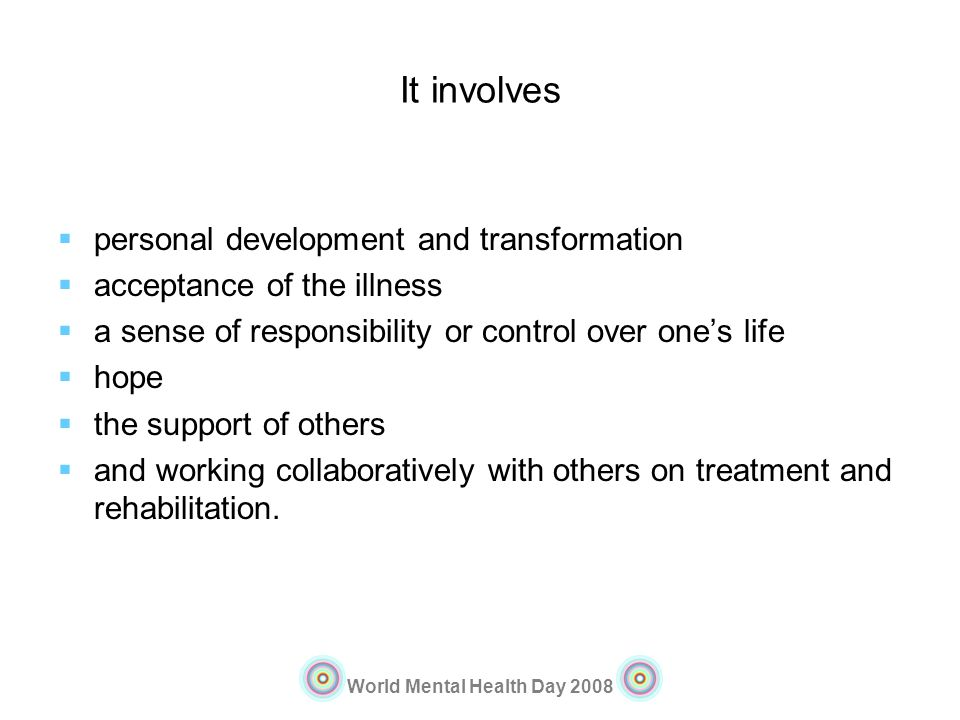 It involves personal development and transformation