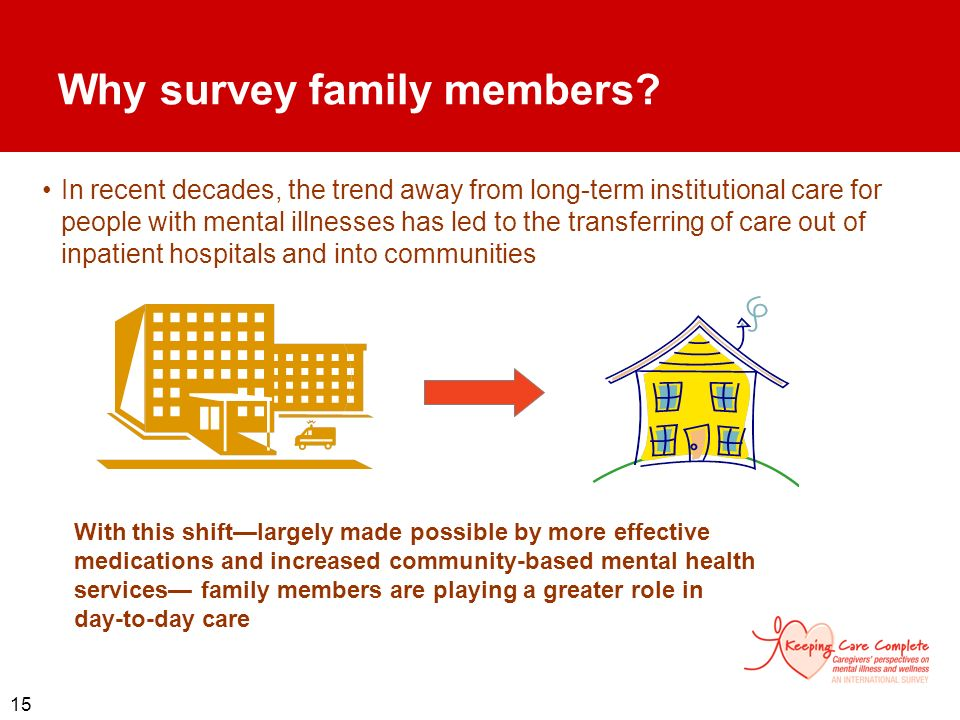 Why survey family members